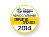 ABA 100 winner in the Employer of Choice category