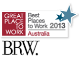 Named as the 12th best place to work in Australia – ranked higher than Google!