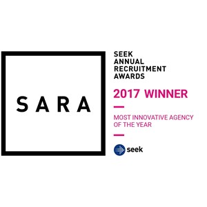 SARA 2017 Winner of the Most Innovative Agency Of The Year
