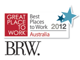 Named as the 10th Best Place to work in Australia